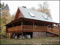 Log Home Inspections - Pacific Crest Inspections