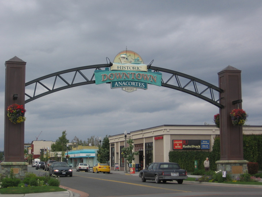 Downtown Anacortes Arch - Home inspections in Anacortes, Fidalgo Island, and Guemes.