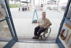 Wheelchair Patron - ADA Compliance